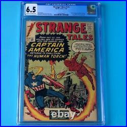 Strange Tales #114 CGC 6.5 1st Silver Age App Captain America! Marvel 1963