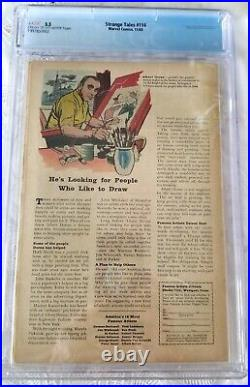 Strange Tales #114 Marvel Comics 1st Captain America since 1954 CGC 3.5