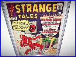 Strange Tales 115 Cgc 7.5 White Pgs! 1st Origin Dr. Strange /2nd App. Sandman MCU
