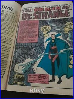 Strange Tales #115 Dr. Strange Origin 2nd Sandman 1st mention Dormammu