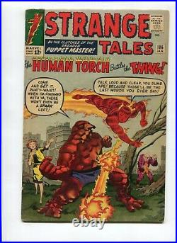 Strange Tales # 116 1st Thing crossover VG/Fine Cond. FREE SHIPPING