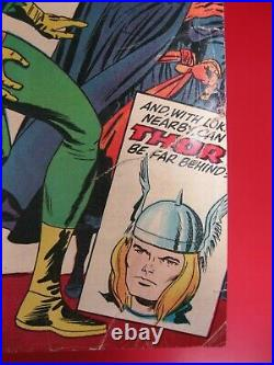 Strange Tales #123 (1964) Origin & 1st Appearance Of Beetle 1st Thor Crossover