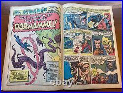 Strange Tales #126 1st Dormammu! Dr Strange Ditko art VG Minus 3.5