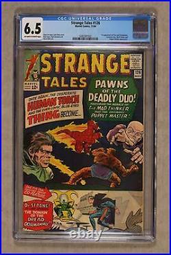 Strange Tales #126 CGC 6.5 1964 0282287002 1st app. Dormammu, Clea