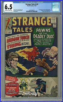 Strange Tales #126 CGC 6.5 1964 2043303019 1st app. Dormammu, Clea