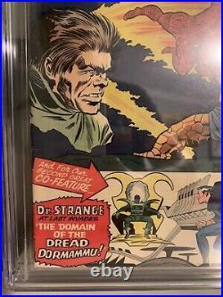 Strange Tales 126 CGC 7.0 1st Appearance Dormammu and Clea! Dr Strange Lee Kirby