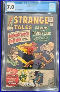 Strange Tales 126 CGC 7.0 1st appearance Dormammu & Clea