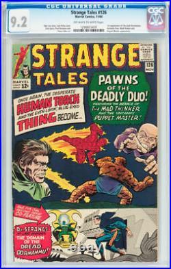 Strange Tales #126 CGC 9.2 1st Appearance Clea, Dormammu Doctor Strange 1964