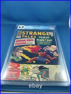 Strange Tales 126 Cgc 6.0 First Dormammu And Clea Key 1964