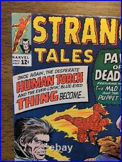 Strange Tales 126 High Grade Unpressed 1st Clea And Dormammu