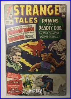 Strange Tales #126/Silver Age Marvel Comic Book/1st Dormammu/GD-VG