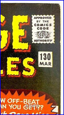 Strange Tales #130 1st KAECILIUS-DR. STRANGE MOVIE, DITKO, KIRBY, THING