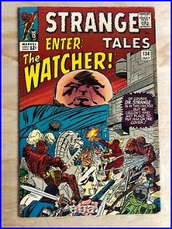 Strange Tales #134 Marvel 1965 1st Mention Eternity. Kang The Conquerer. Watcher