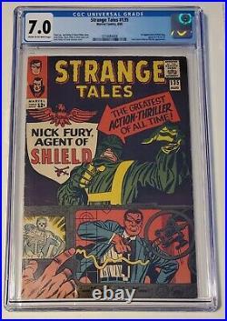 Strange Tales#135 Cgc 7.0 (1st app. Of Nick Fury Agents of Shield)