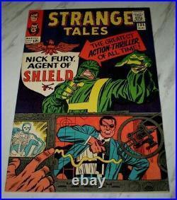 Strange Tales #135 NM+ 9.6 OW pages 1965 Marvel Dr. Strange 1st Nick Fury SHIELD