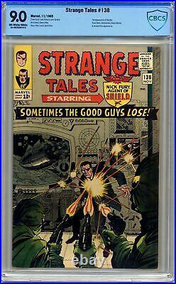 Strange Tales #138 CBCS 9.0 1965 20-48C8380-013 1st app. Eternity