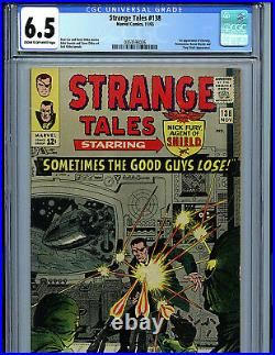 Strange Tales #138 CGC 6.5 FN+ 1965 Silver Age Marvel 1st Eternity Amricons K2