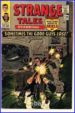 Strange Tales #138 VG-FN Marvel (1965) -1st App Of Eternity -Silver Age Comic