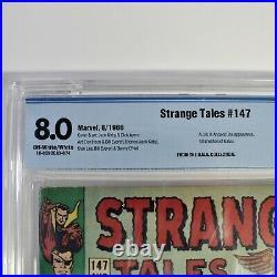 Strange Tales #147 CBCS 8.0 1st Appearance Kaluu