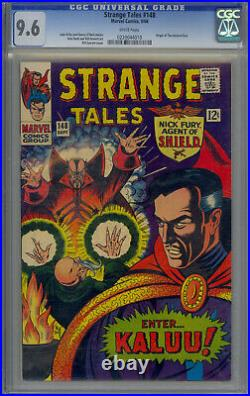 Strange Tales #148 CGC 9.6 White Pages Origin Ancient One, 1st (full) Kaluu