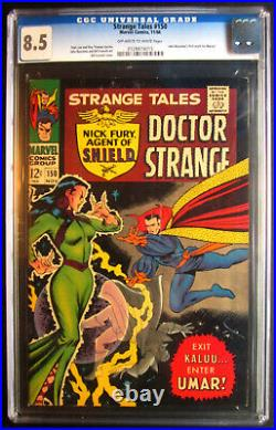 Strange Tales 150 CGC 8.5 1st John Buscema at Marvel 1st Umar 1966
