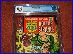 Strange Tales #157 Marvel 1967 CGC 4.5 1st Appearance of the Living Tribunal