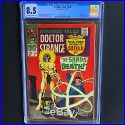 Strange Tales #158 (1967) CGC 8.5 1st Living Tribunal! Marvel Silver Age