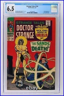 Strange Tales #158 Marvel 1967 CGC 6.5 1st full App of the Living Tribunal