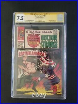Strange Tales 159, CGC 7.5 SS Jim Steranko, 1967 1st Val