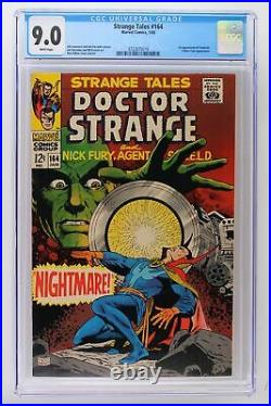 Strange Tales #164 Marvel 1968 CGC 9.0 1st Appearance of Yandroth. Yellow Claw