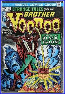 Strange Tales #169-173 (1st&2nd Appearance Of Brother Voodoo) Marvel Comics