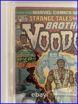 Strange Tales #169 1st App Of Brother Voodoo Halo Graded 2.0 Good, Cgc