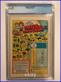 Strange Tales #169 1st Brother Voodoo! Cgc 8.0 Ow Marvel Comics 1973 A Classic