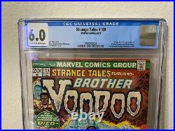 Strange Tales #169 CGC 6.0 1973 Origin and 1st App. Brother Voodoo! 9/73