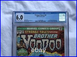 Strange Tales 169 CGC 6.0 OWithWP First Appearance of Brother Voodoo Jericho Drumm