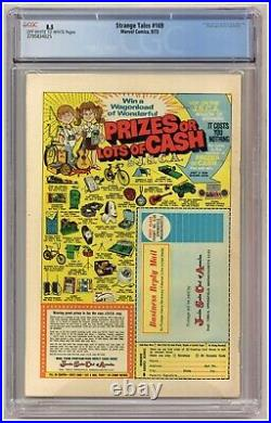 Strange Tales 169 (CGC 8.5) Origin/1st app. Brother Voodoo Marvel 1973 A695