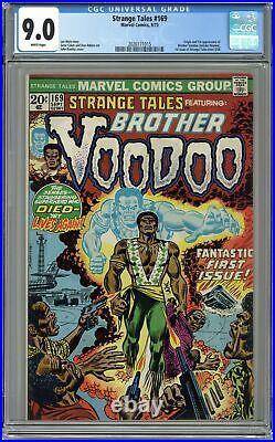 Strange Tales #169 CGC 9.0 1973 2026171015 Origin & first Brother Voodoo story