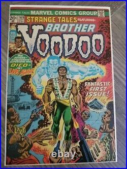 Strange Tales 169 CGC 9.0 2 4 1st Brother Voodoo MCU Comics Strange Marvel Key