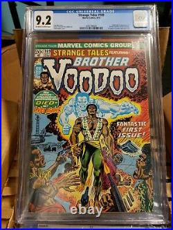 Strange Tales 169 CGC 9.2 1st Appearance of Brother Voodoo