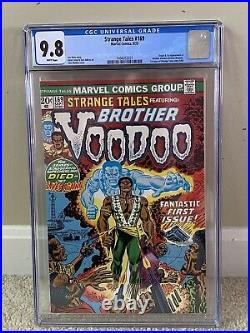 Strange Tales #169 CGC 9.8 White Pages 1st Brother Voodoo. Highest graded