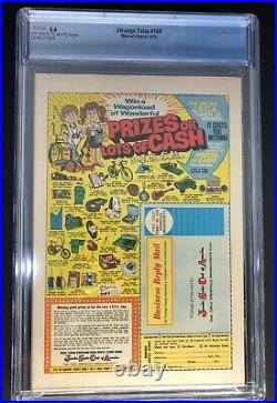 Strange Tales 169 CGC Graded 8.0 VF 1st Brother Voodoo Marvel Comics 1973