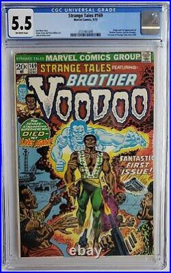 Strange Tales #169 Cgc 5.5 1st App Brother Voodoo Doctor Strange 2 Mcu