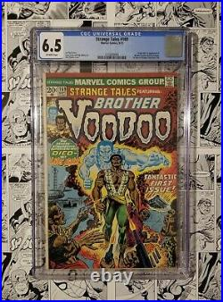 Strange Tales #169 Cgc 6.5 First Appearance And Origin Of Brother Voodoo Key