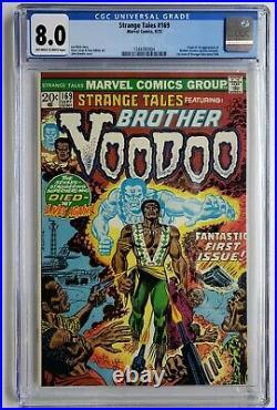 Strange Tales #169 Cgc 8.0 1st App Brother Voodoo Doctor Strange 2 Verified