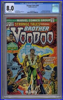 Strange Tales #169 Cgc 8.0 Origin/1st Brother Voodoo White Pages