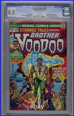 Strange Tales #169 Cgc 8.5 Origin/1st Brother Voodoo (6012)