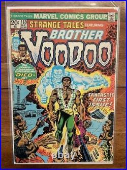 Strange Tales 169 First Appearance Key Comic Book 1973
