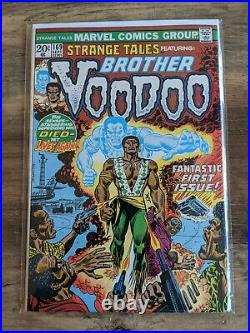 Strange Tales #169 First Appearance Of Brother Voodoo 1973 Marvel Comics