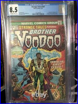 Strange Tales #169 First Appearance Of Brother Voodoo! CGC 8.5