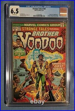 Strange Tales #169 (Marvel 1973) CGC 6.5 FN+ 1st Brother Voodoo O/W pgs